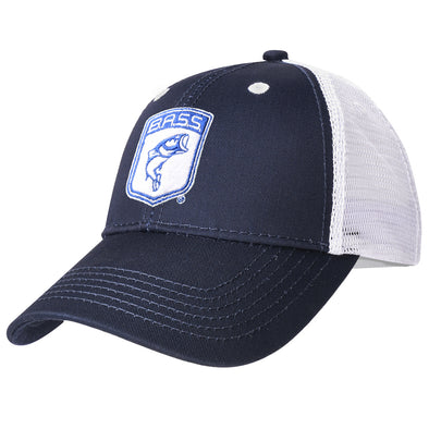 Bassmaster Navy Patch Trucker Hat