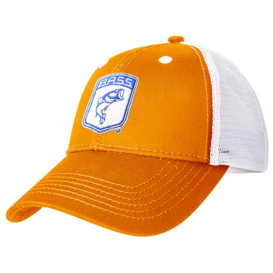 Bassmaster Youth Orange Patch Trucker Hat