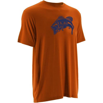 Huk® Fishing Orange T-Shirt