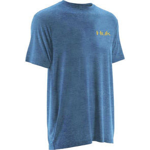 Huk® KC Scott Twilight Heather Carolina Blue T-Shirt