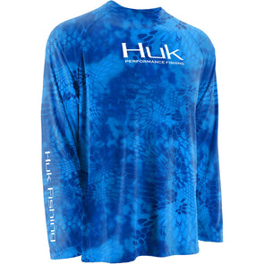 Huk® Kryptek Solid Kryptek Royal T-Shirt
