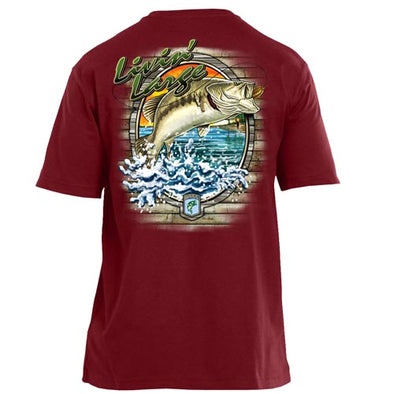 Carhartt 'Livin Large' Dark Red Short Sleeve (50% Off Sale)
