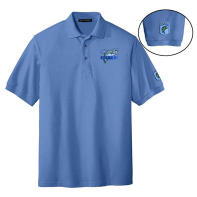 Bassmaster Logo Polo with Bass (50% Off Sale)