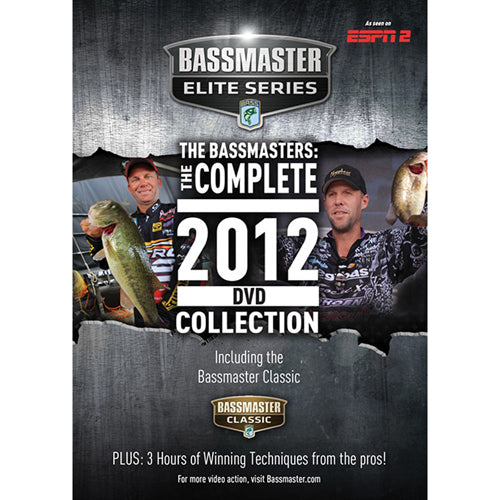 Bassmasters The Complete 2012 DVD Collection