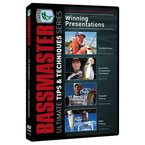 Bassmasters Winning Presentations 4 DVD Set