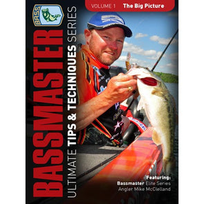 Bassmasters Ultimate Tips and Techniques: The Big Picture DVD (50% Off Sale)