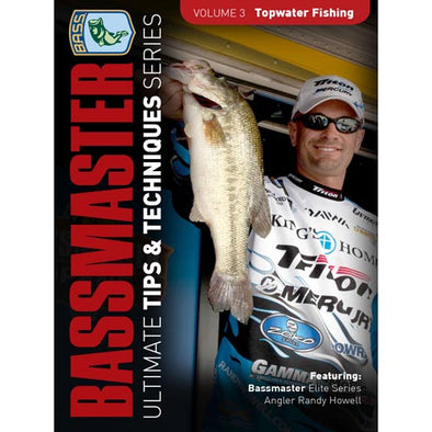 Bassmasters Ultimate Tips and Techniques: Topwater Fishing DVD (50% Off Sale)
