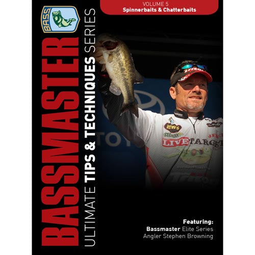 Bassmasters Ultimate Tips and Techniques: Spinnerbaits and Chatter Baits DVD (50% Off Sale)