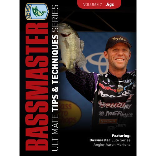 Bassmasters Ultimate Tips and Techniques: Jigs DVD (50% Off Sale)