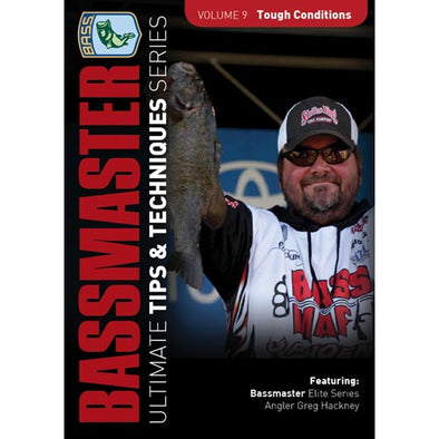 Bassmasters Ultimate Tips and Techniques: V9 Tough Conditions DVD (50% Off Sale)