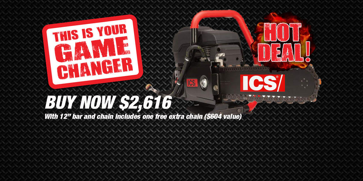 ICS 695F4 UTILITY CHAINSAW