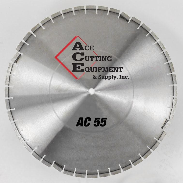 ACE AC55 Diamond Saw Blade For Limestone And Overlay Asphalt Over Concrete