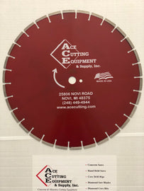 ACE C23 Concrete Diamond Blade