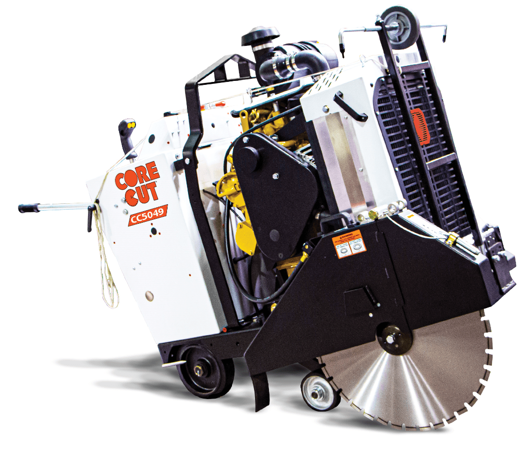CC5049DC Diesel Core Cut Walk Behind Saw
