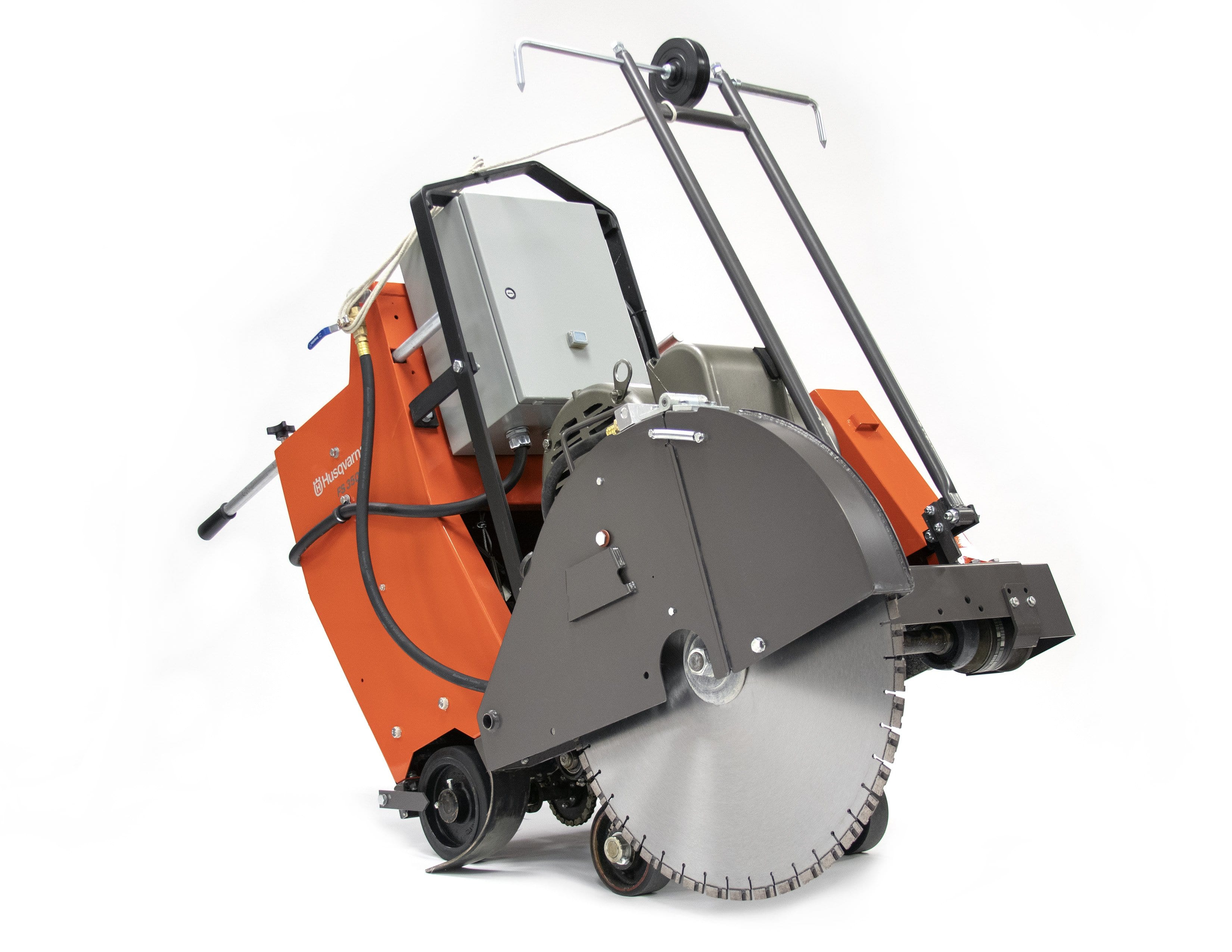 FS3500E Husqvarna Electric Self Propelled Concrete Saw