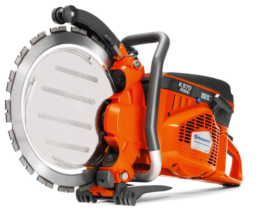 K970 Ring Saw Husqvarna Gas Deep Cutting Power Cutter with Free Ring Blade