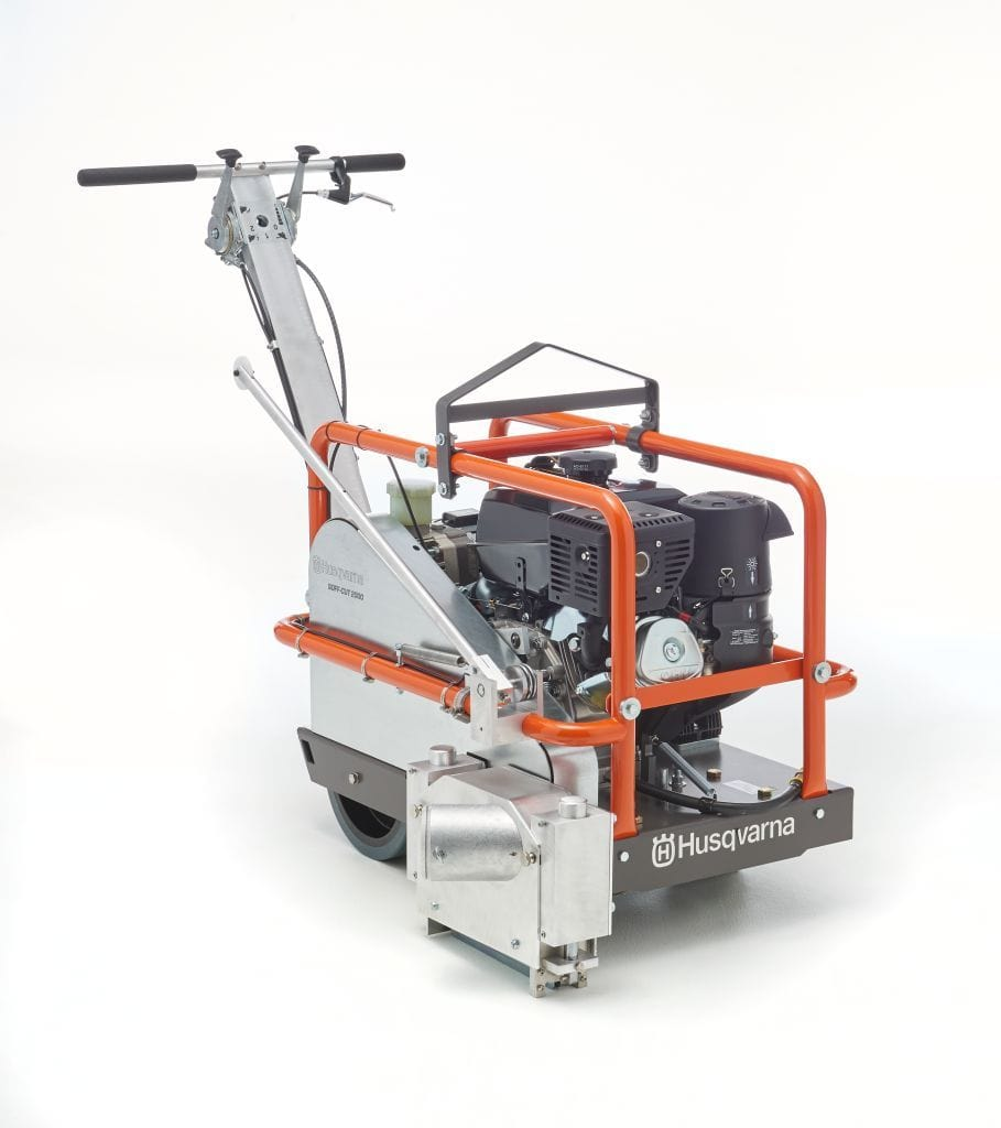 Soff Cut 2000 Husqvarna Concrete Saw