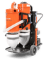 Load image into Gallery viewer, T4000SC Husqvarna Gas Soff Cut HEPA Dust Extractor Vacuum