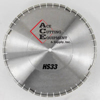 ACE HS33 Hydraulic Hand Saw Diamond Blade