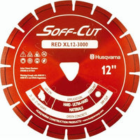Soff Cut Excel 3000 Series Red Husqvarna Diamond Blade