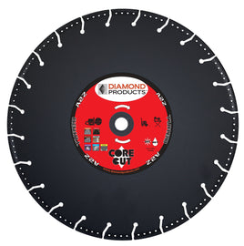 Rescue A2Z Vacuum Bonded High Speed Diamond Blade