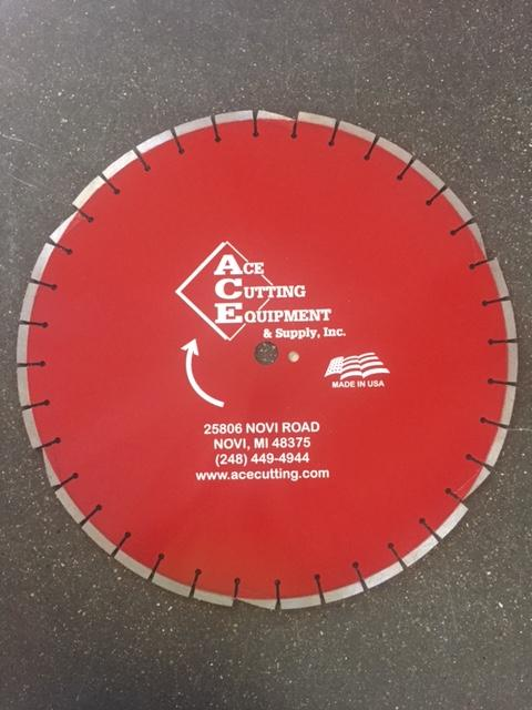ACE A32 Asphalt Diamond Blade
