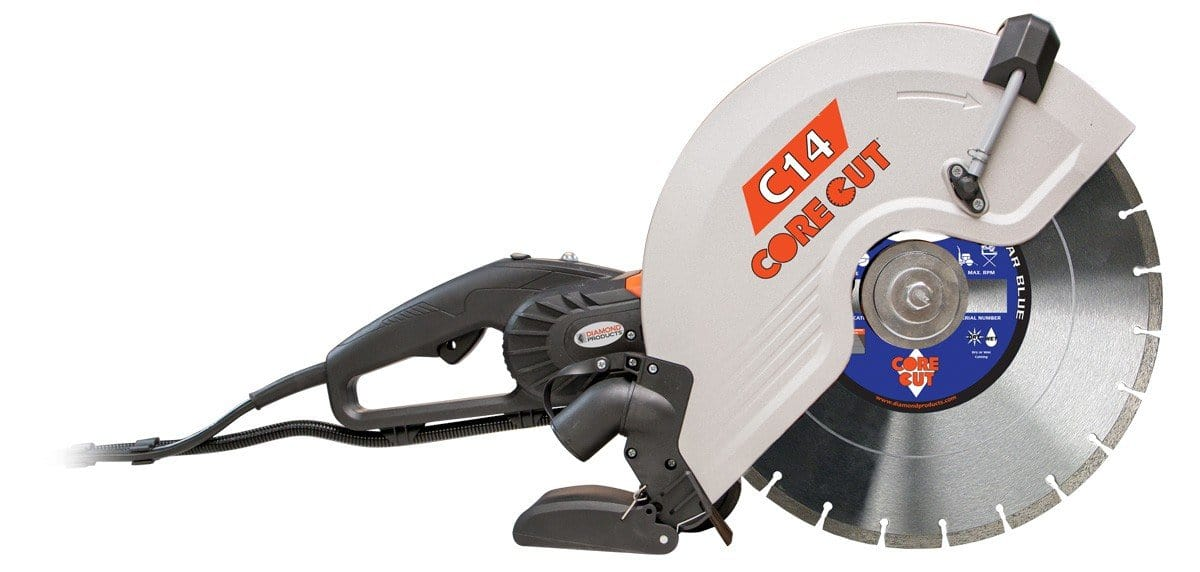 C14 Electric Hand Held Concrete Saw