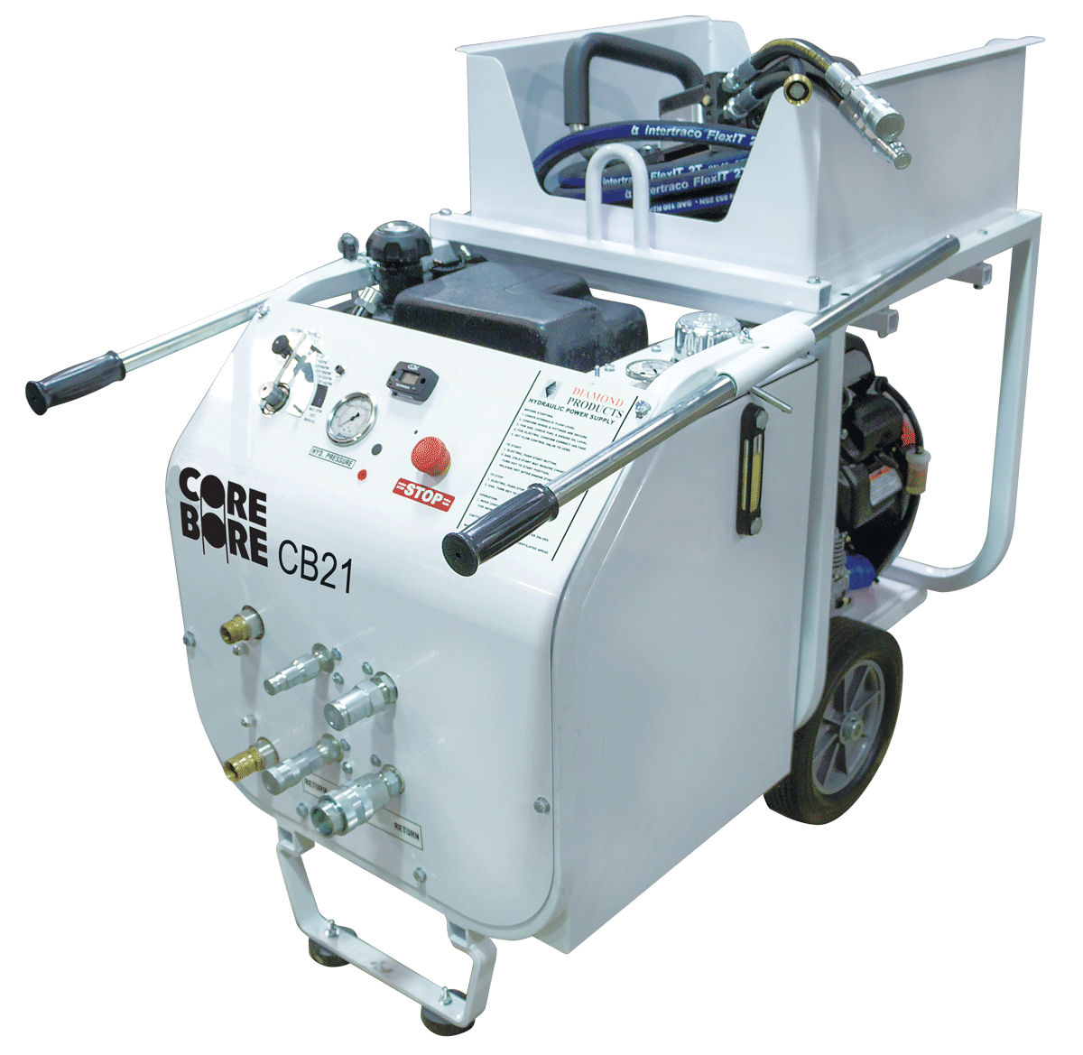 CB21 HXL Gas Hydraulic Power Unit