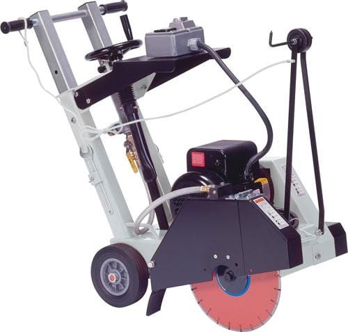 CC1300XL Electric Push Core Cut Walk Behind Saw