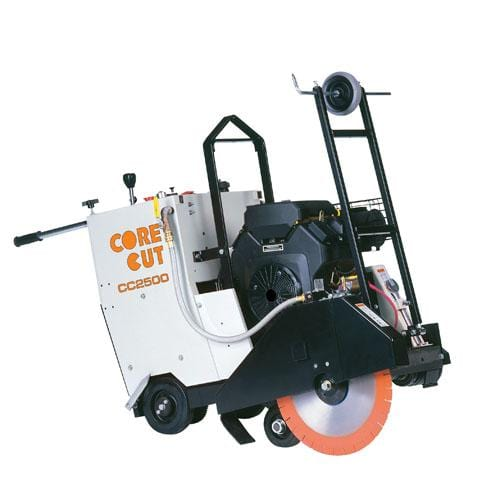 CC2500 Gas Self Propelled Core Cut Walk Behind Saw