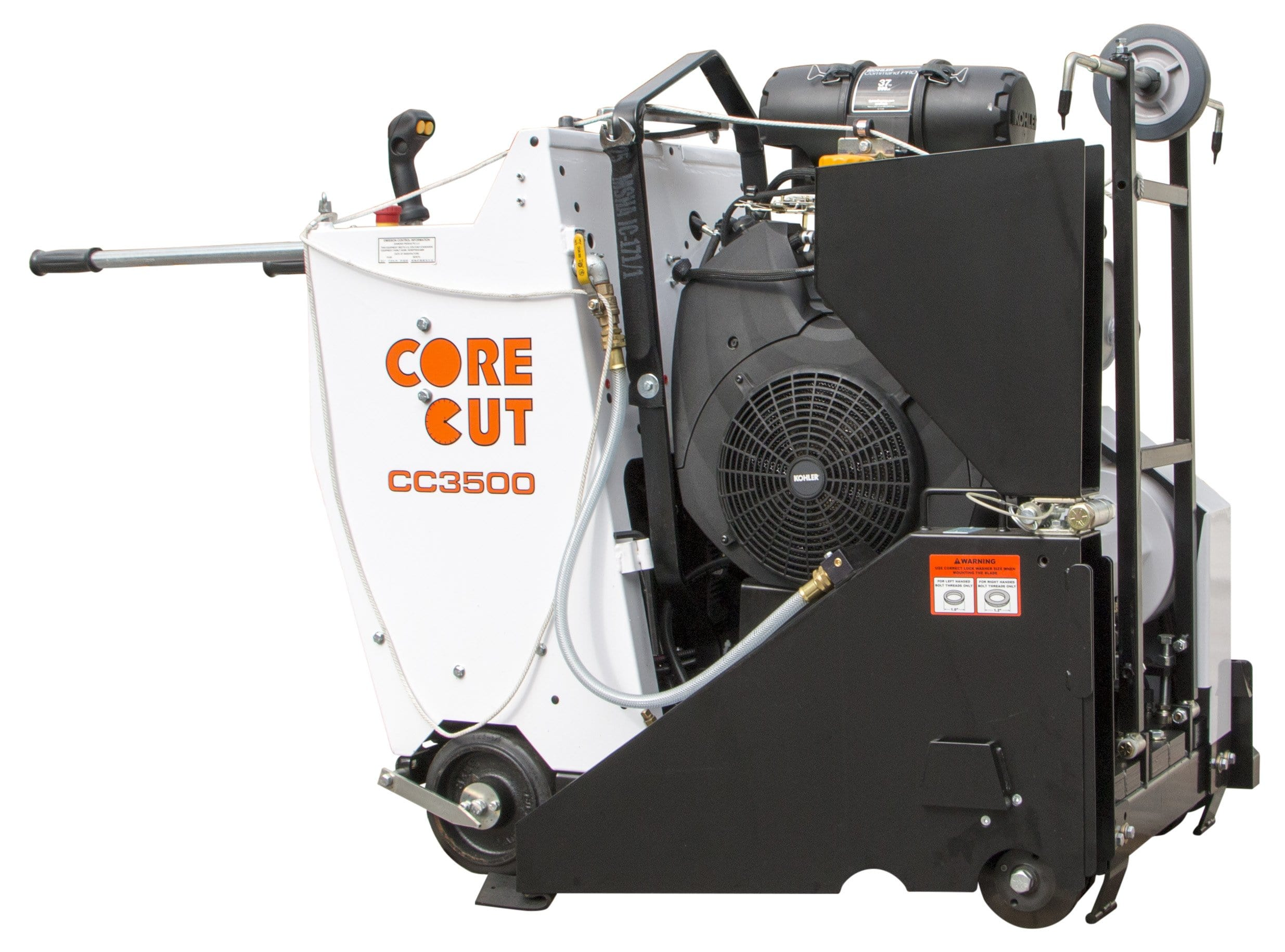 CC3500 Propane Self Propelled Core Cut Walk Behind Saw