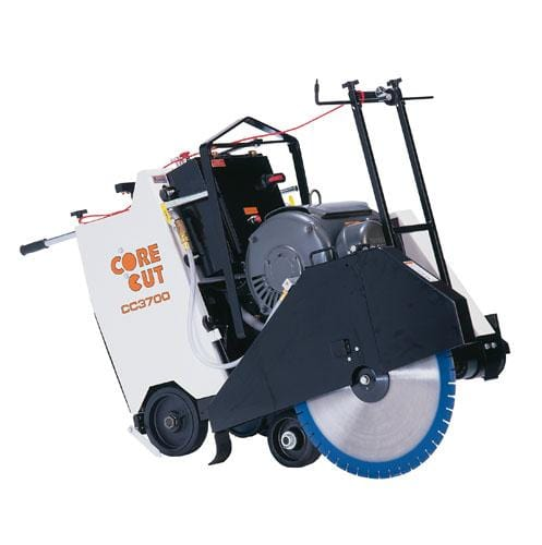 CC3700E 3-Speed Electric Core Cut Walk Behind Saw