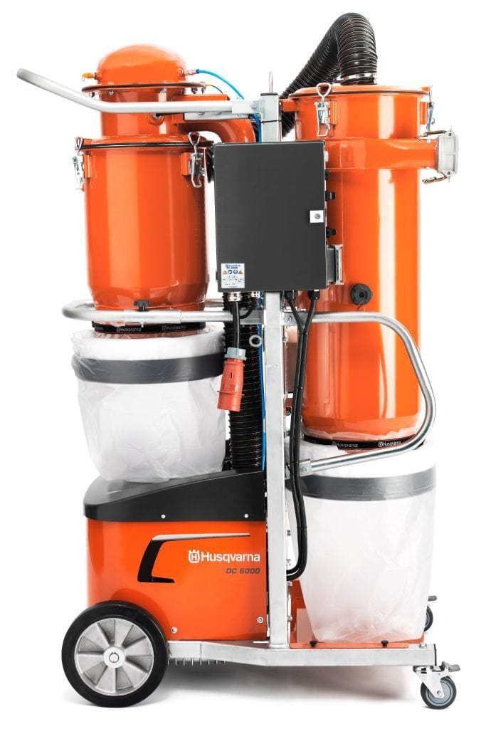 DC6000 Husqvarna Dust Collection Vacuum