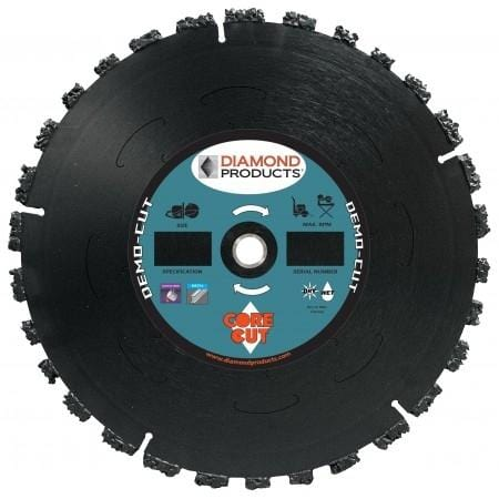 Diamond Products Demo-Cut High Speed Specialty Blade
