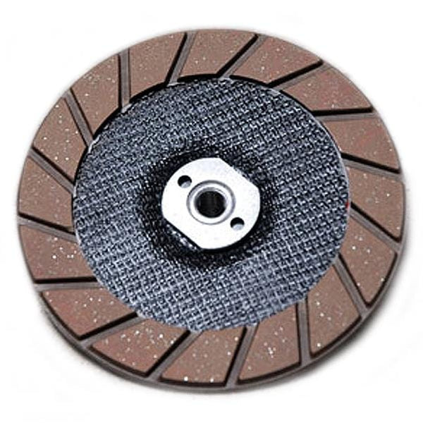 "Easy Edge 6"" Edger Wheel, Grooved 5/8-11 Thread"