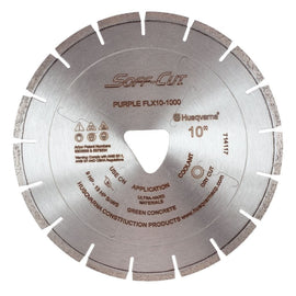 Soff Cut FLX Purple Series Husqvarna Diamond Blade