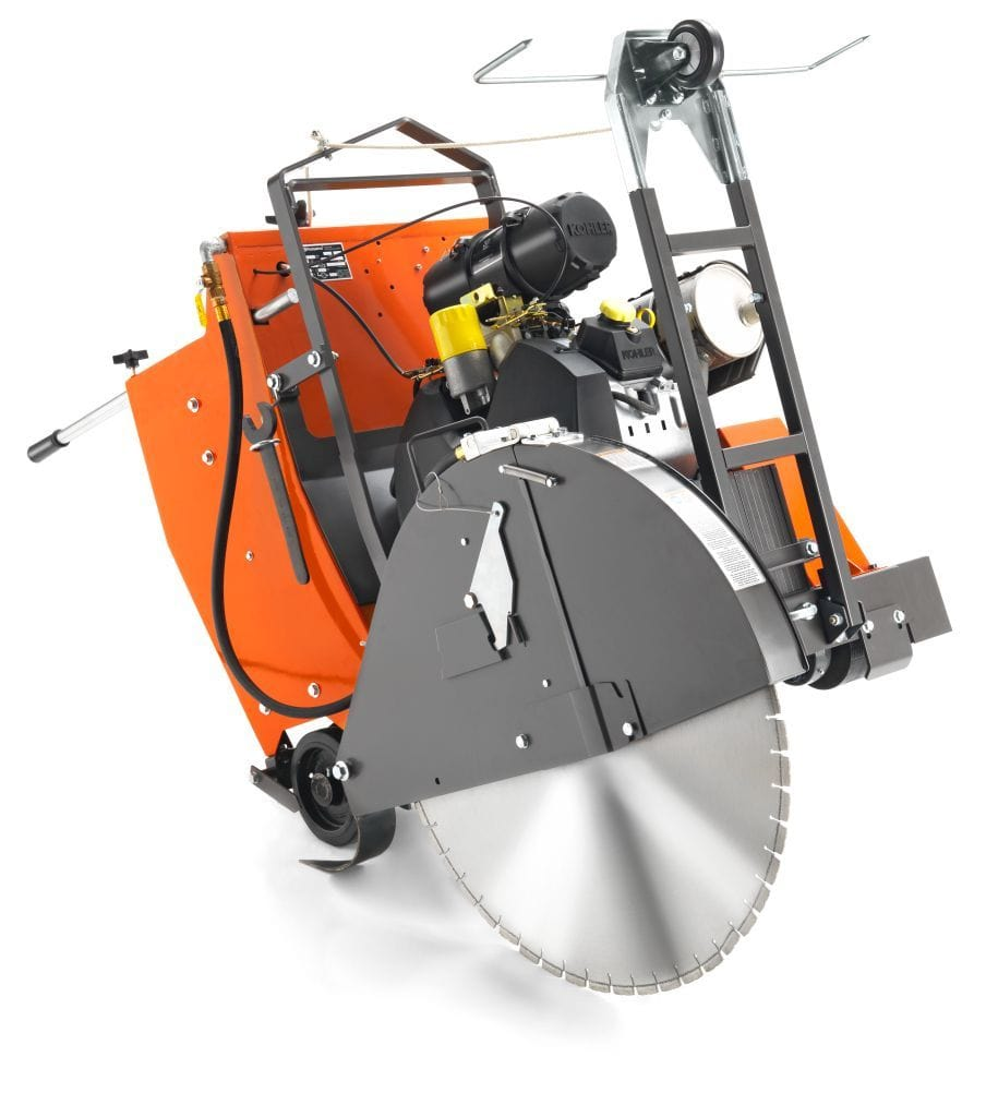 FS3500G Husqvarna Gas Self Propelled Concrete Saw