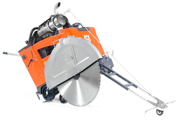 FS5000 Husqvarna 3-Speed Diesel Concrete Saw