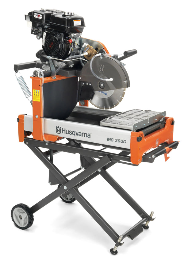 "Husqvarna MS360 Gas 14"" Masonry Table Saw"