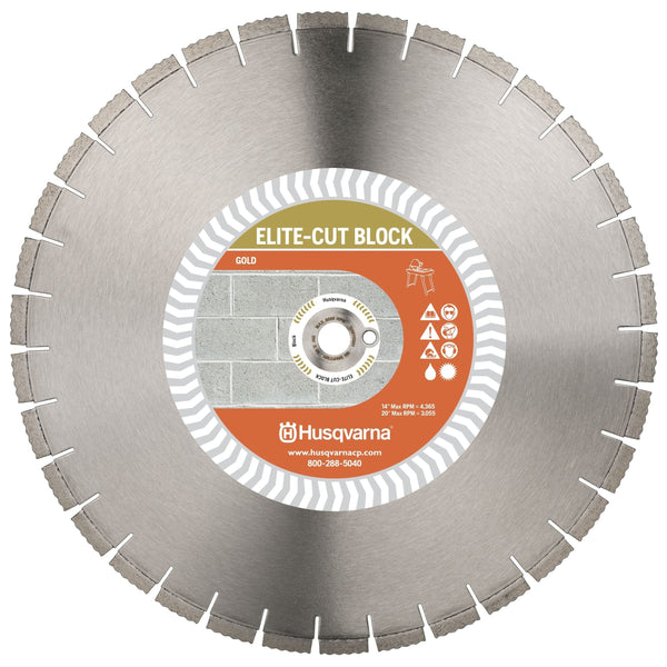 Elite-Cut Masonry / Refractory Series Husqvarna Diamond Blade
