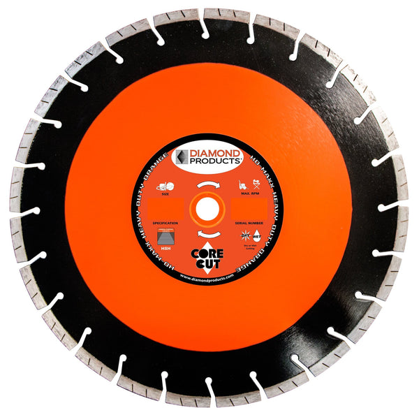 Heavy Duty Orange MAXX High Speed Diamond Blade