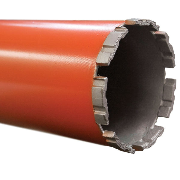 Heavy Duty Turbo Orange Wet Diamond Core Bit