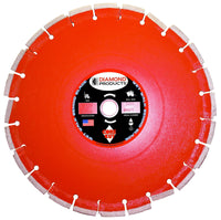 Asphalt / Overlay Heavy Duty Orange Wet Diamond Blade