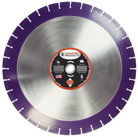 Imperial Purple Cured Concrete Wet Diamond Blade