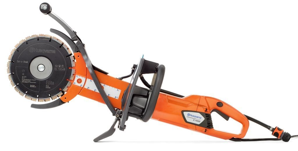 K4000 Cut N Break Electric Husqvarna Deep Cutting Power Cutter