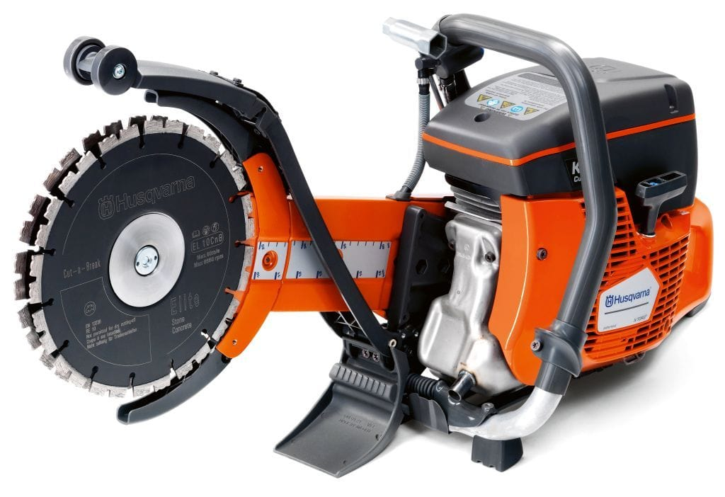 K760 Cut N Break Gas Husqvarna Deep Cutting Power Cutter
