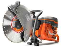 K1270 Gas Husqvarna Power Cutter