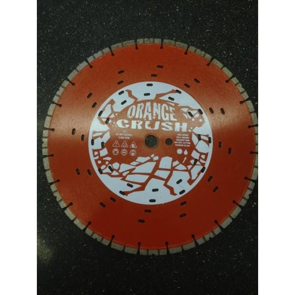 "Orange Crush 14"" Husqvarna Diamond Blade"