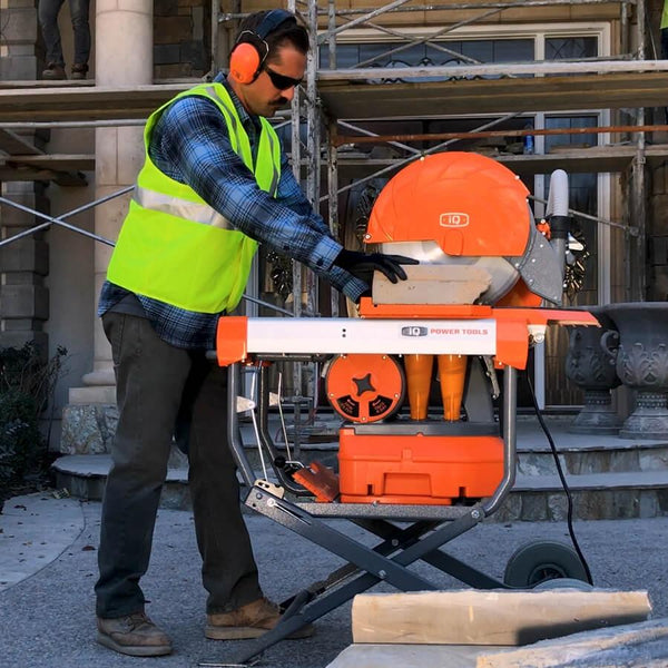 "iQMS362 Masonry 16.5"" Dust-Free Table Saw iQ Power Tools"