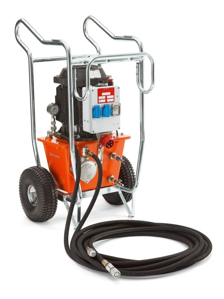 PP325E Husqvarna Electric 480v Hydraulic Power Unit